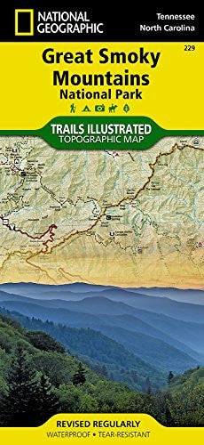 us topo - Great Smoky Mountains National Park (National Geographic Trails Illustrated Map) - Wide World Maps & MORE! - Book - National Geographic - Wide World Maps & MORE!