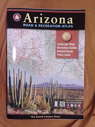 us topo - Arizona Road and Recreation Atlas - Wide World Maps & MORE! - Office Product - Wide World Maps & MORE! - Wide World Maps & MORE!