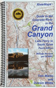 Colorado River in The Grand Canyon Map - 4th E-RiverMaps