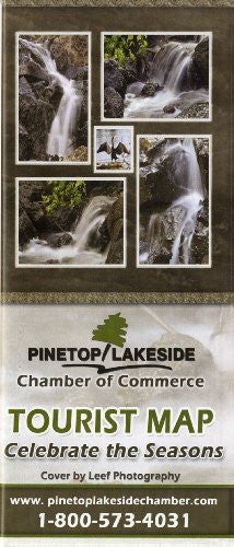 Pinetop / Lakeside Chamber of Commerce Tourist Map