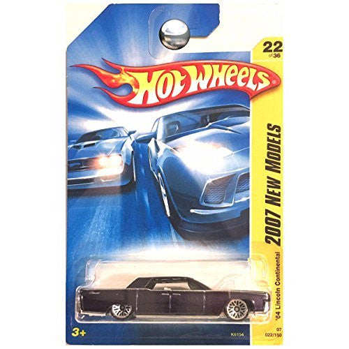 us topo - Hot Wheels 2007 New Models 1964 64 Lincoln Continental Sedan DARK Purple - Wide World Maps & MORE! - Toy - Hot Wheels - Wide World Maps & MORE!