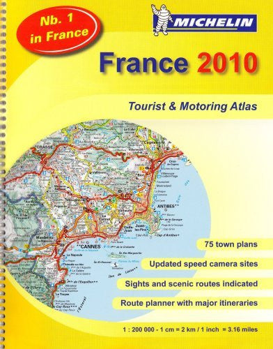 us topo - MOT Atlas France 2010 (Michelin Tourist and Motoring Atlases) (English, French and French Edition) - Wide World Maps & MORE! - Book - Wide World Maps & MORE! - Wide World Maps & MORE!