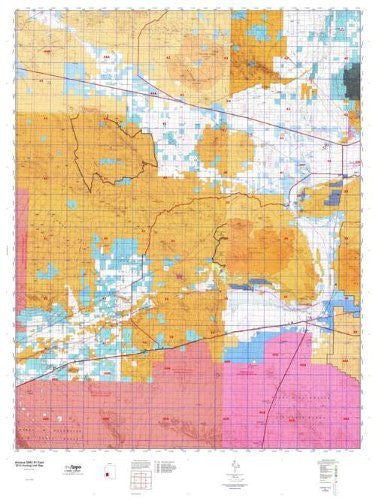 us topo - Arizona GMU 41 East Hunt Area / Game Management Units (GMU) Map - Wide World Maps & MORE! - Book - Wide World Maps & MORE! - Wide World Maps & MORE!