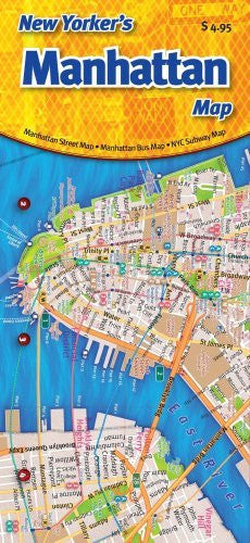 New Yorker's Manhattan Map