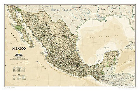 Mexico Executive [Laminated] (National Geographic Reference Map) by National Geographic Maps - Reference (2010-05-04) - Wide World Maps & MORE! - Book - Wide World Maps & MORE! - Wide World Maps & MORE!