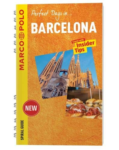 Barcelona Marco Polo Spiral Guide (Marco Polo Spiral Guides) - Wide World Maps & MORE! - Book - Wide World Maps & MORE! - Wide World Maps & MORE!