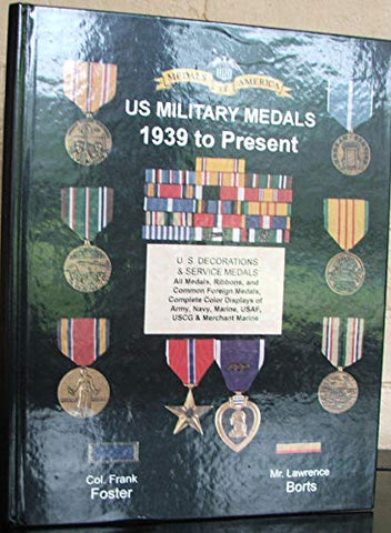 U.S. Military Medals 1939 to Present