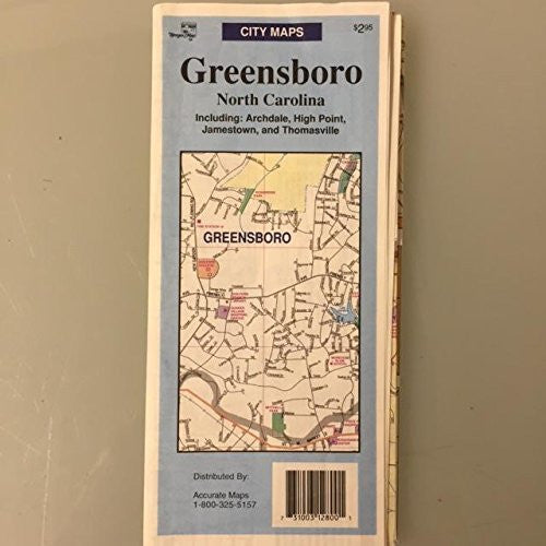 us topo - City Maps: Greensboro, North Carolina - Wide World Maps & MORE! - Book - Wide World Maps & MORE! - Wide World Maps & MORE!