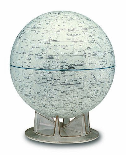 Replogle Moon 12-inch Diam. Tabletop Globe