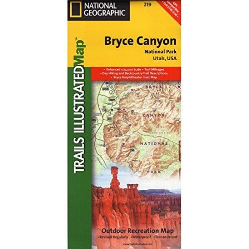 us topo - Bryce Canyon - Wide World Maps & MORE! - Book - National Geographic Books - Wide World Maps & MORE!