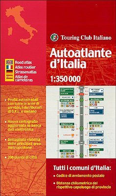 us topo - Italy, Road Atlas - Wide World Maps & MORE! - Book - Touring Club Italiano - Wide World Maps & MORE!