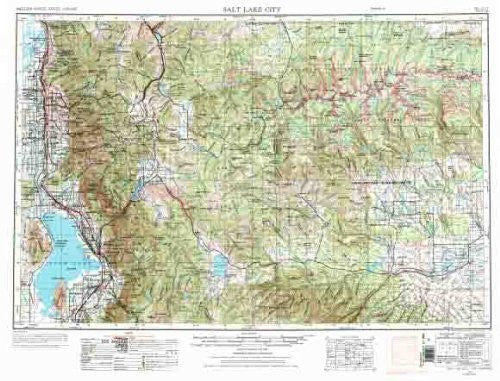 us topo - Salt Lake City, UT - Wide World Maps & MORE! - Book - Wide World Maps & MORE! - Wide World Maps & MORE!