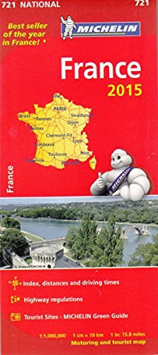 us topo - France 2015 National Map 721 - Wide World Maps & MORE! - Book - Wide World Maps & MORE! - Wide World Maps & MORE!
