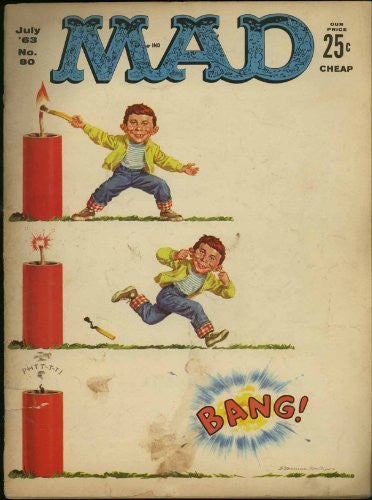 MAD MAGAZINE NUMBER 80 - July 1963