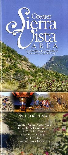 us topo - Greater Sierra Vista Area Chamber of Commerce 2010 Street Map - Wide World Maps & MORE! - Book - Wide World Maps & MORE! - Wide World Maps & MORE!