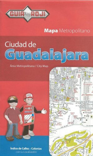 us topo - Guadalajara City Map by Guia Roji - Wide World Maps & MORE! - Book - Wide World Maps & MORE! - Wide World Maps & MORE!