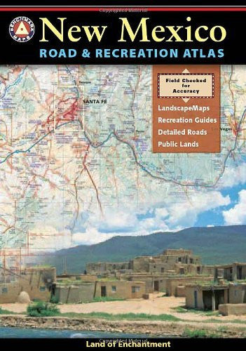 us topo - New Mexico Road and Recreation Atlas (Benchmark Maps: New Mexico) - Wide World Maps & MORE! - Book - National Geographic Maps - Wide World Maps & MORE!