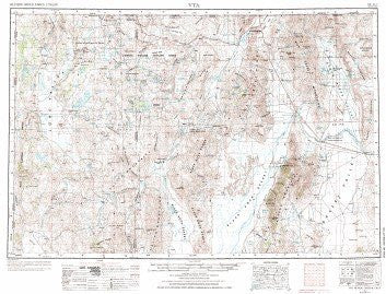 us topo - Vya, NV;OR - Wide World Maps & MORE! - Book - Wide World Maps & MORE! - Wide World Maps & MORE!