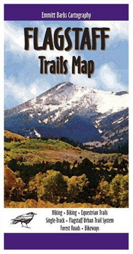 us topo - Flagstaff Trails Map - Wide World Maps & MORE! - Book - Emmet Barks Cartography - Wide World Maps & MORE!