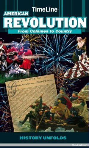 us topo - TimeLine American Revolution: From Colony to Country - Wide World Maps & MORE! - Book - Brand: Play Bac - Wide World Maps & MORE!