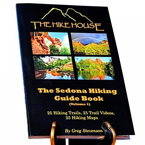 THE SEDONA HIKING GUIDE BOOK GREG STEVENSON