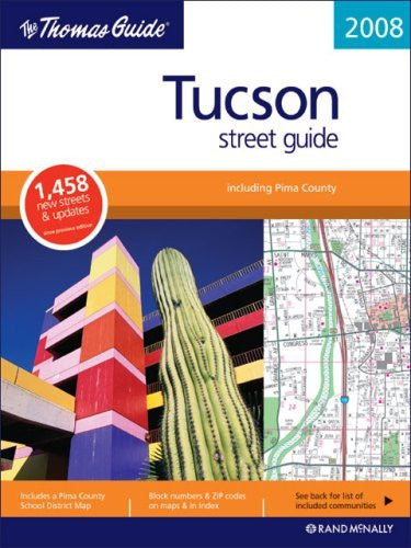us topo - The Thomas Guide Tucson Street Guide (Thomas Guide Tucson Metropolitan Area Street Guide & Directory) - Wide World Maps & MORE! - Book - Brand: Rand McNally n Company - Wide World Maps & MORE!