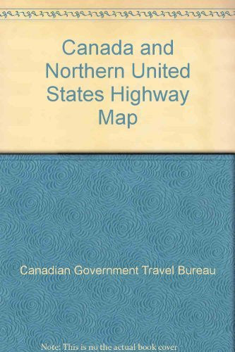 us topo - Canada and Northern United States Highway Map - Wide World Maps & MORE! - Book - Wide World Maps & MORE! - Wide World Maps & MORE!