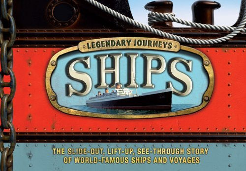 us topo - Legendary Journeys: Ships - Wide World Maps & MORE! - Book - Lavery, Brian - Wide World Maps & MORE!