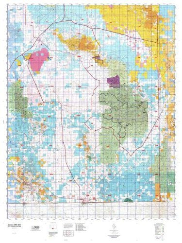 Arizona GMU 30A Hunt Area / Game Management Units (GMU) Map