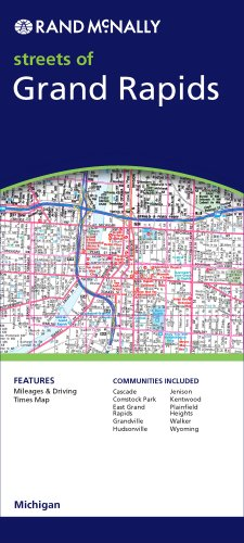 Rand McNally Streets of Grand Rapids, Michigan