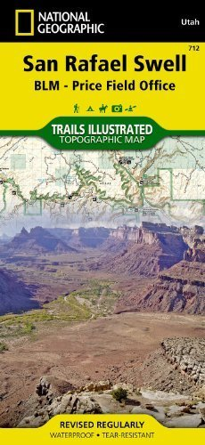 By National Geographic Maps - Tra San Rafael Swell [BLM - Price Field Office] (National Geographic Maps: Trails Illustrated) (2005) - Wide World Maps & MORE! - Book - Wide World Maps & MORE! - Wide World Maps & MORE!