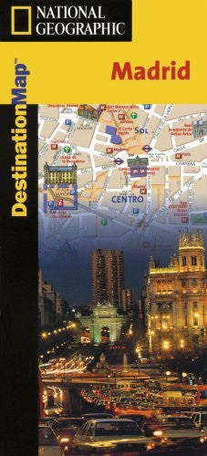 Madrid Destination Map (National Geographic)