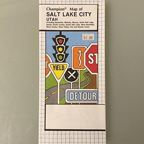 us topo - Champion Map of Salt Lake City - Wide World Maps & MORE! - Book - Wide World Maps & MORE! - Wide World Maps & MORE!