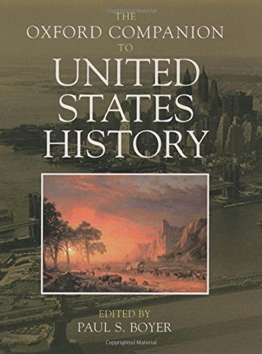 The Oxford Companion to United States History (Oxford Companions) - Wide World Maps & MORE! - Book - Wide World Maps & MORE! - Wide World Maps & MORE!