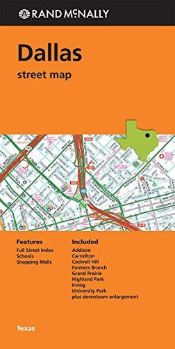 Rand McNally: Folded Map: Dallas Street Map