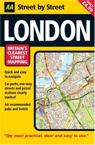 us topo - AA Street by Street: London - Wide World Maps & MORE! - Book - Wide World Maps & MORE! - Wide World Maps & MORE!