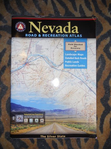 us topo - Benchmark Nevada Road & Recreation Atlas, 3rd Edition - Wide World Maps & MORE! - Office Product - National Geographic Maps - Wide World Maps & MORE!
