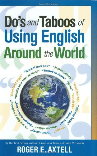 us topo - Do's and Taboos of Using English Around The World - Wide World Maps & MORE! - Book - Brand: Castle Books - Wide World Maps & MORE!