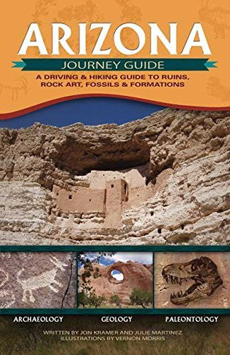 us topo - Arizona Journey Guide: A Driving And Hiking Guide to Ruins, Rock Art, Fossils And Formations - Wide World Maps & MORE! - Book - Brand: Adventure Publications - Wide World Maps & MORE!