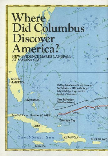us topo - Where Did Columbus Discover America? New Evidence Marks Landfall at Samana Cay. - Wide World Maps & MORE! - Book - Wide World Maps & MORE! - Wide World Maps & MORE!