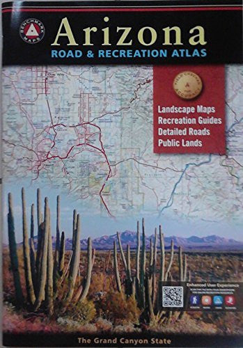 us topo - Arizona Road & Recreation Atlas - Wide World Maps & MORE! - Book - Wide World Maps & MORE! - Wide World Maps & MORE!