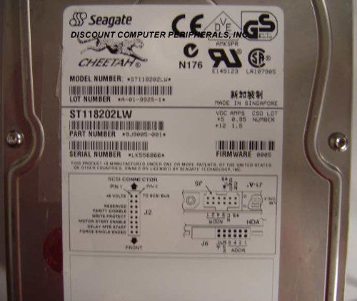 Seagate ST39173LW 9GB SCSI 68PIN(PTG-9D-1C)
