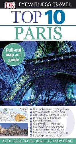 us topo - Top 10 Paris (Eyewitness Top 10 Travel Guides) - Wide World Maps & MORE! - Book - Brand: Dorling Kindersley US - Wide World Maps & MORE!