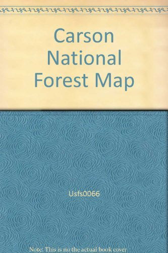Carson National Forest Map