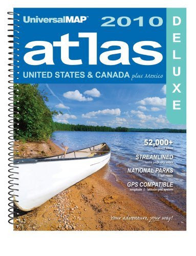 North America Deluxe Atlas - Wide World Maps & MORE! - Book - Wide World Maps & MORE! - Wide World Maps & MORE!