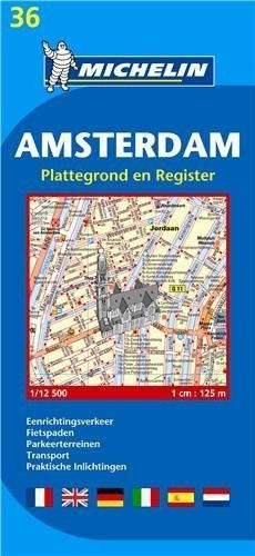 Michelin Map Amsterdam #36 (Maps/City (Michelin)) by Michelin (2012) Map