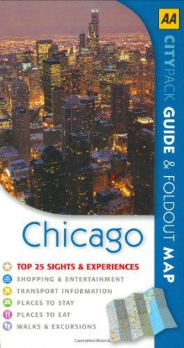 us topo - AA CityPack Chicago (AA CityPack Guides) - Wide World Maps & MORE! - Book - Wide World Maps & MORE! - Wide World Maps & MORE!