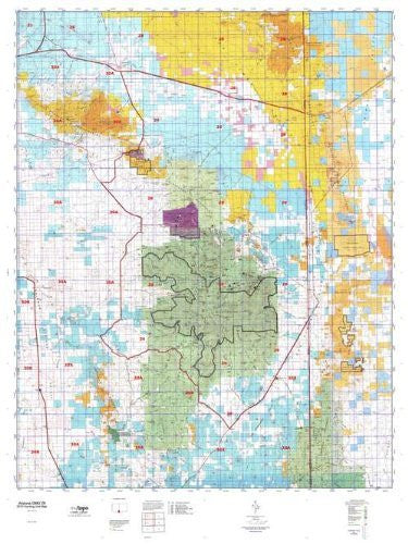 us topo - Arizona GMU 29 Hunt Area / Game Management Units (GMU) Map - Wide World Maps & MORE! - Book - Wide World Maps & MORE! - Wide World Maps & MORE!