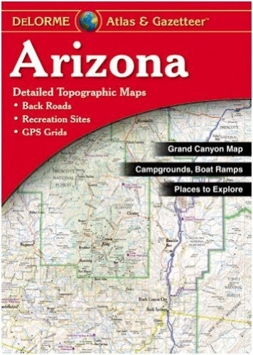 DeLorme Arizona State Laminated Atlas & Gazetteer
