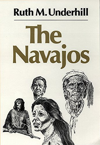 us topo - The Navajos (The Civilization of the American Indian Series) - Wide World Maps & MORE! - Book - Brand: University of Oklahoma Press - Wide World Maps & MORE!